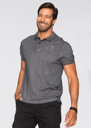 Polo regular fit, bpc selection, Grigio scuro