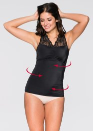 Top modellante, bpc bonprix collection, Nero