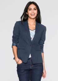 Blazer, BODYFLIRT, Blu scuro a righe