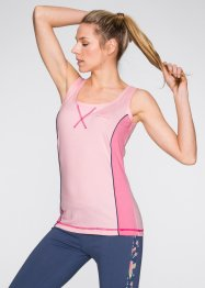Top, bpc bonprix collection, Rosa cipria / rosa acceso