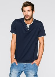 Maglia 2 in 1 regular fit, bpc bonprix collection, Blu scuro