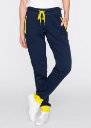 Pantalone in felpa, bpc bonprix collection, Blu scuro