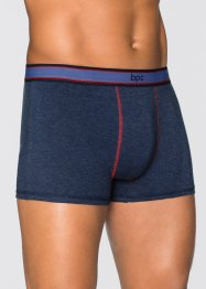 Boxer (pacco da 3), bpc bonprix collection, Blu scuro melange