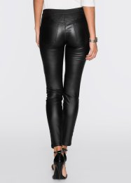 Treggings rivestito, BODYFLIRT, Nero