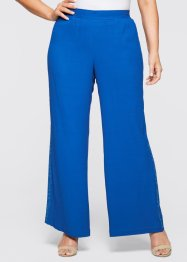 Pantalone con ricamo, bpc selection, Bluette / turchese