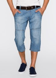 Jeans 3/4 regular fit, John Baner JEANSWEAR, Blu