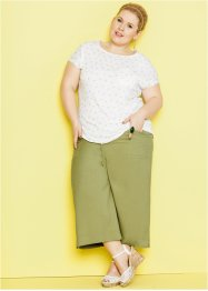 Pantalone 3/4 Maite Kelly, bpc bonprix collection, Verde cactus