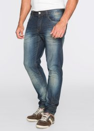 Jeans TAPERED, John Baner JEANSWEAR, Dirty denim used