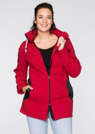 Giacca di softshell, bpc bonprix collection, Rosso scuro