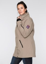 Giacca di softshell, bpc bonprix collection, Marroncino