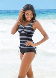 Tankini, bpc bonprix collection, Nero a righe