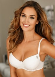 Reggiseno push-up, bpc bonprix collection, Bianco + nero