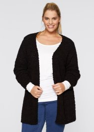 Cardigan aperto, bpc bonprix collection, Nero