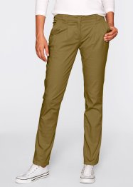 Pantaloni chino, bpc bonprix collection, Verde scuro