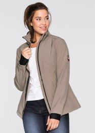 Giacca in softshell, bpc bonprix collection, Marroncino