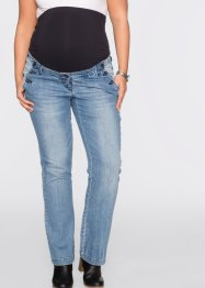 Jeans elasticizzati prémaman bootcut, bpc bonprix collection, Medium blu bleached