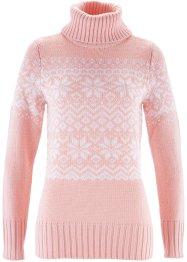 Pullover, bpc bonprix collection, Rosa perlato fantasia