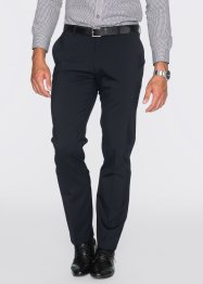 Pantalone in misto lana regular fit, bpc selection, Nero