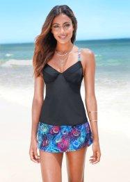 Top con ferretto per tankini, BODYFLIRT, Fantasia multicolore