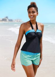 Top per tankini, bpc bonprix collection, Nero