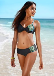 Slip per bikini, bpc bonprix collection, Nero