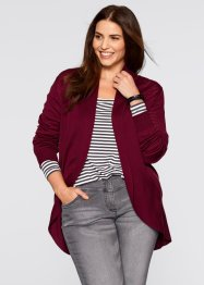 Cardigan a manica lunga, bpc bonprix collection, Rosso acero