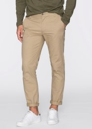 Pantalone slim fit straight, RAINBOW, Beige