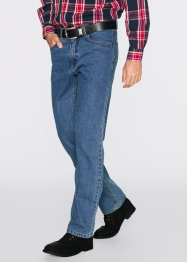 Jeans termico classic fit straight, bpc bonprix collection, Blu