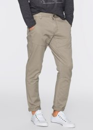 Pantalone regular fit tapered, RAINBOW, Kaki