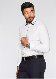 Camicia business regular fit, bpc selection, Nero