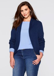 Cardigan, bpc bonprix collection, Blu scuro
