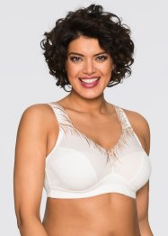 Reggiseno senza ferretto, bpc selection, Ecru / color nudo