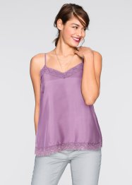 "Top ""Lingerie"", RAINBOW, Lilla scuro"