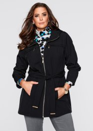 Giacca in softshell, bpc selection, Nero