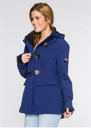 Montgomery in softshell, bpc bonprix collection, Blu notte