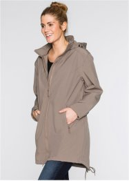 Parka in softshell, bpc bonprix collection, Marroncino