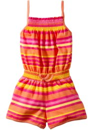 Tuta, bpc bonprix collection, Pesca / fucsia scuro a righe