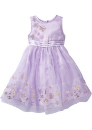 Abito con tulle, bpc bonprix collection, Violetto