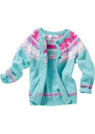 Cardigan, bpc bonprix collection, Turchese fantasia