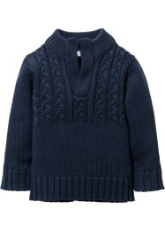 Pullover, bpc bonprix collection, Blu scuro