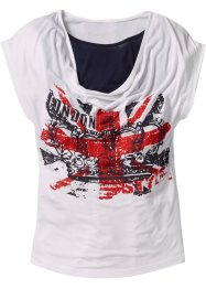 T-shirt, bpc bonprix collection, Bianco