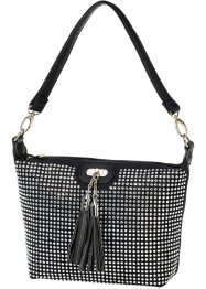 "Borsa a tracolla ""Strass"", bpc bonprix collection, Nero"