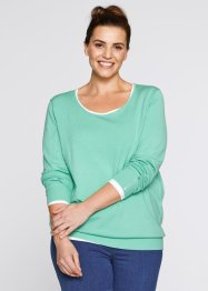 Pullover, bpc bonprix collection, Mentolo