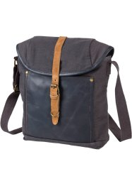 Borsa da uomo, bpc bonprix collection, Grigioazzurro / marrone
