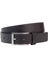 Cintura in pelle, bpc bonprix collection, Nero