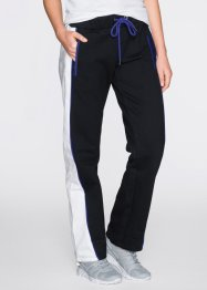 Pantalone in felpa, bpc bonprix collection, Nero