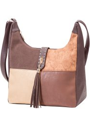 "Borsa a tracolla ""Patchlook"", bpc bonprix collection, Marrone"