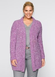 Cardigan melange, bpc bonprix collection, Bacca melange