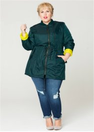 Parka Maite Kelly, bpc bonprix collection, Petrolio / lime