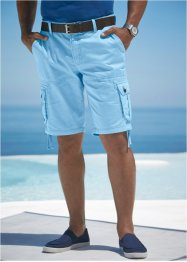 Bermuda cargo loose fit, bpc bonprix collection, Azzurro